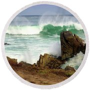 Wild Pacific Two Round Beach Towel