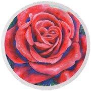 Wild Rose Three Round Beach Towel