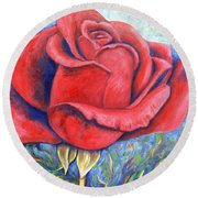 Wild Rose Two Round Beach Towel