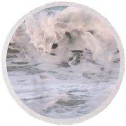 Wild Surf Round Beach Towel