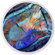 Wild Wood II Round Beach Towel