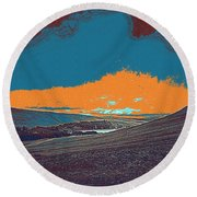 Wilderness Round Beach Towel