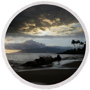 Wilderness Of The Heart Round Beach Towel