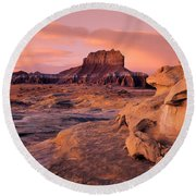 Wildhorse Butte Round Beach Towel