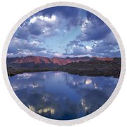 Wildhorse Lake Round Beach Towel