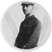 Wilfred Owen (1893-1918) Round Beach Towel