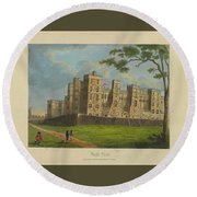 Wilkinson, Robert  58 Cornhill Windsor Castle Published 7 Aug 1813 Round Beach Towel