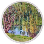 Willow Round Beach Towel
