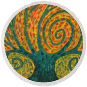 Winding I Round Beach Towel