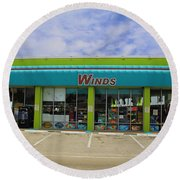 Winds Of Ft Myers II Round Beach Towel