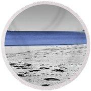 Wineglass Bay Sc Round Beach Towel
