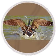 Wing Spand Round Beach Towel