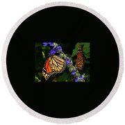 Winged Life Round Beach Towel