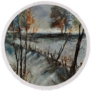 Winter 450101 Round Beach Towel