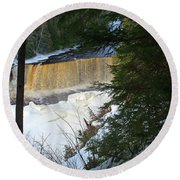 Winter At Tahquamenon Round Beach Towel