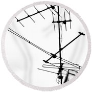 Wired Round Beach Towel