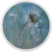 Wishes Round Beach Towel