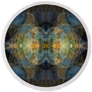 With Me Round Beach Towel