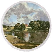 Wivenhoe Park Round Beach Towel