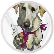 Womack 3291 Trina-k Round Beach Towel