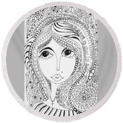 Women Of Faith 2 Round Beach Towel
