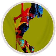Womens Golf Collection Round Beach Towel