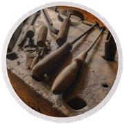 Woodsmith Tools Hermann Farm Mo_dsc2772_16 Round Beach Towel