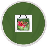 Working Together Tote Bag Round Beach Towel
