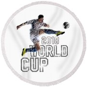 World Cup 2018 Round Beach Towel