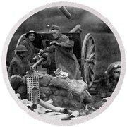 World War I: U.s. Artillery Round Beach Towel