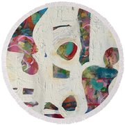 Worldly Women Round Beach Towel