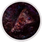 Wounded Miracle Round Beach Towel