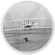 Wright Brothers, 1903 Round Beach Towel