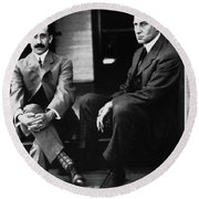 Wright Brothers Round Beach Towel