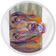 Wrigley Round Beach Towel
