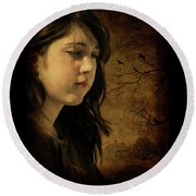 Wuthering Hights Round Beach Towel