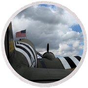 Douglas C-47 Skytrain 1 Round Beach Towel