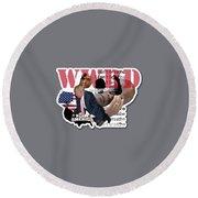 Wwrd? Round Beach Towel