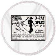X-ray Specs $1.00 Round Beach Towel