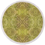 Xs And Os Round Beach Towel