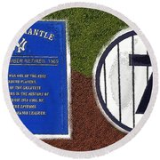 Yankee Legends Number 7 Round Beach Towel