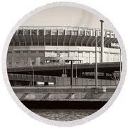 Yankee Stadium    1923  -  2008 Round Beach Towel