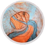 Yogaic - Tile Round Beach Towel