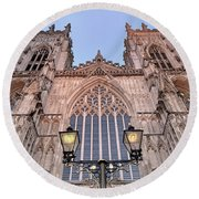 York Minster Round Beach Towel