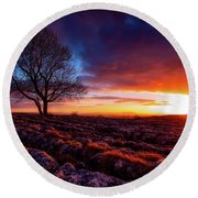 Yorkshire Beauty Round Beach Towel