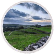 Yorkshire Dales - 31 Round Beach Towel