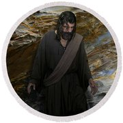 You Are My Hiding Place And My Shield 2 Round Beach Towel