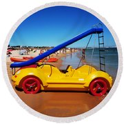 You Are What You Drive Round Beach Towel