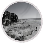 Young Artists Round Beach Towel