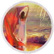 Your Kingdom Come Round Beach Towel